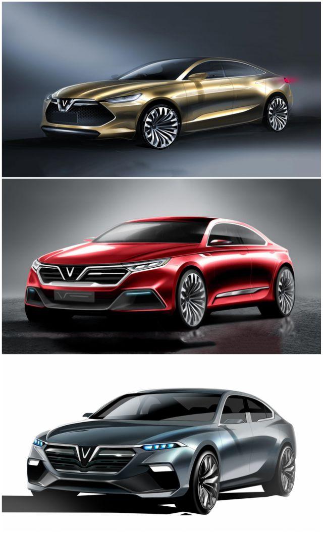 Chiêm ngưỡng 20 mẫu xe concept của VinFast - 2