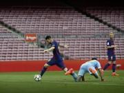 """Bóng đá - Messi ghi bàn như máy, diễn tuyệt kĩ Rô """"béo"""" tô thêm vẻ đẹp"""