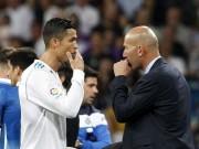 """Bóng đá - Ronaldo bực tức vì tịt ngòi: Zidane mặc kệ, vui vì Real """"phá dớp"""""""