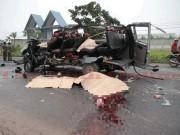 Tin tức trong ngày - Ảnh: Hiện trường khủng khiếp vụ tai nạn 6 người chết ở Tây Ninh