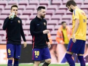 Bóng đá - Barca sôi sục, Catalunya đòi độc lập: Messi tham bóng Vàng, bất đồng Pique