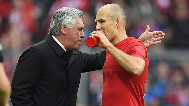 Tin HOT bóng đá trưa 3/10: Robben tiết lộ sự thật về Ancelotti - 1