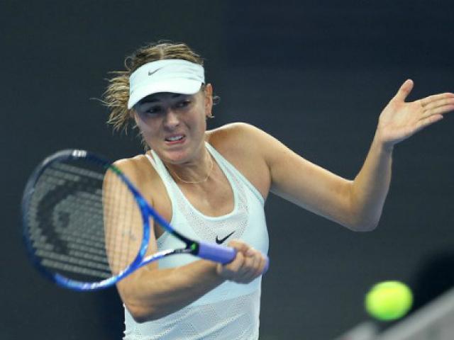 Sharapova - Makarova: Đẳng cấp thăng hoa 3 set