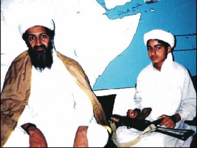 Hình ảnh hiếm hoi của con trai bin Laden ngày cưới vợ - 2