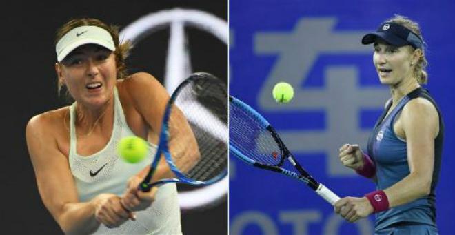 Sharapova - Makarova: Đẳng cấp thăng hoa 3 set - 1