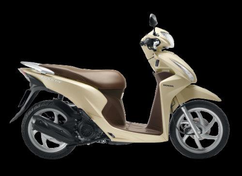 Cận cảnh Honda Vision 110cc màu mới giá 29,99 triệu đồng - 1