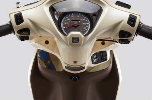 Cận cảnh Honda Vision 110cc màu mới giá 29,99 triệu đồng - 2