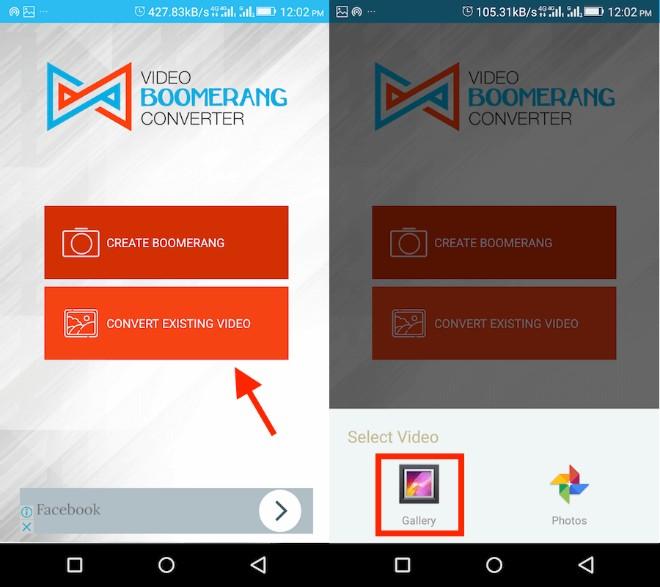 Mang hiệu ứng Boomerang cực vui đến với video trên Camera Roll và Gallery - 3