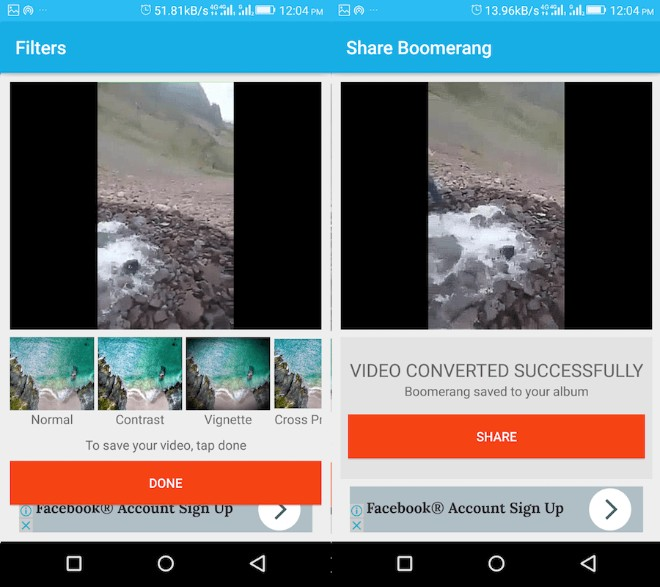 Mang hiệu ứng Boomerang cực vui đến với video trên Camera Roll và Gallery - 5