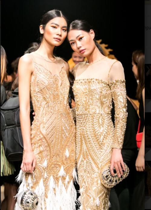 Á hậu cao nhất Việt Nam quá lộng lẫy tại tuần thời trang Việt - 8