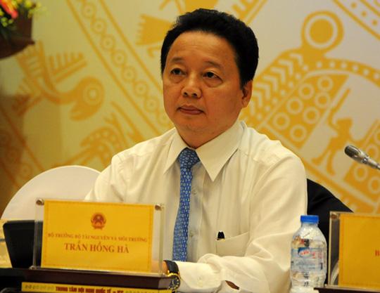Bộ trưởng TN-MT: Đưa tin thất thiệt vụ ông Nguyễn Xuân Quang cũng bị xử lý - 1