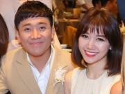 Mặc tin đồn yêu Đào Bá Lộc, Trấn Thành vẫn vui vẻ cùng vợ dự sinh nhật Mr. Đàm