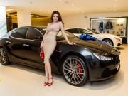 Tin tức ô tô - Hồ Ngọc Hà sắm siêu xe Maserati 7 tỷ đồng
