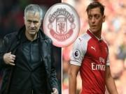 Bóng đá - Ozil đòi rời Arsenal: MU - Mourinho sẽ mua đứt tháng 1/2018