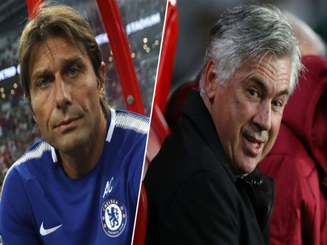 """Chelsea có biến: Conte """"tháo chạy"""", Ancelotti cứu giá"""