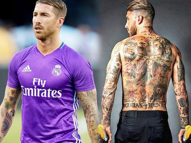"""Bí ẩn sau hình xăm """"độc"""" của Messi, Beckham, Sergio Ramos - 6"""