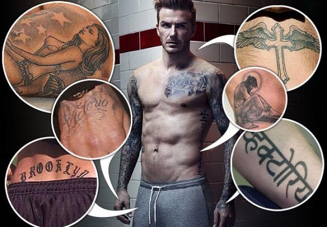 """Bí ẩn sau hình xăm """"độc"""" của Messi, Beckham, Sergio Ramos - 9"""
