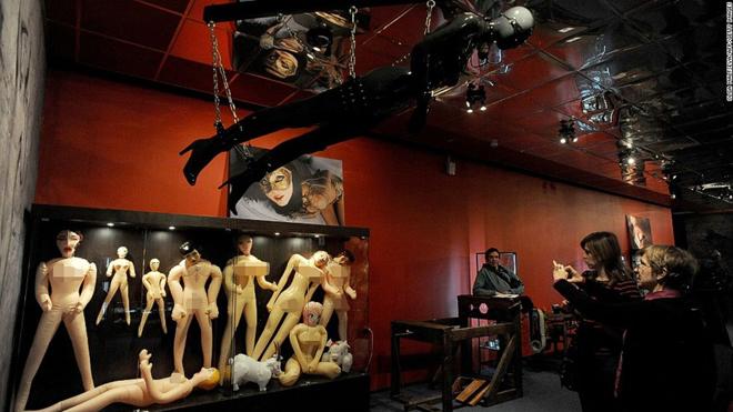 """Ngượng """"chín mặt"""" khám phá những bảo tàng tình dục nổi tiếng thế giới - 3"""
