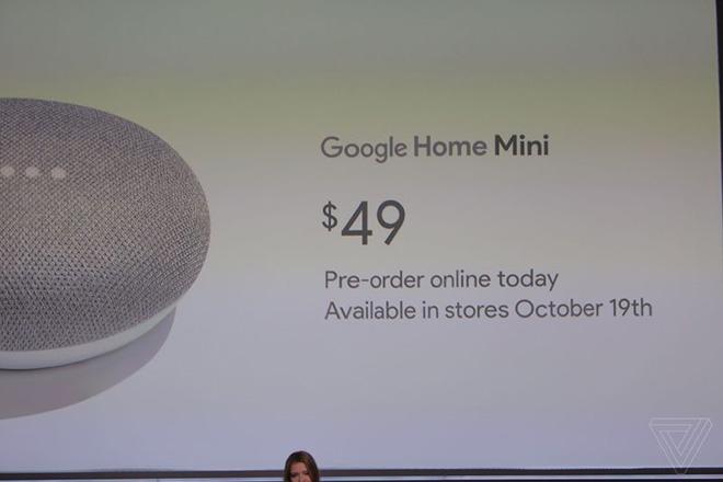Loa thông minh Google Home Mini giá rẻ bất ngờ ra mắt - 2