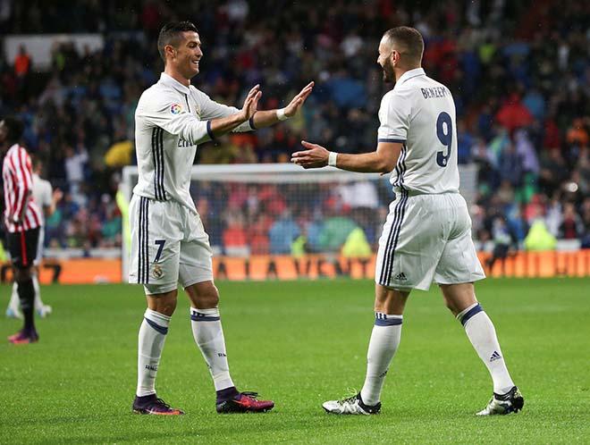 """Real bĩ cực đấu Atletico: Benzema """"hầu hạ"""", mong Ronaldo khơi nguồn - 2"""