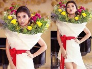 Thời trang - Hết hồn khi thấy cháu gái Lam Trường mặc bình hoa di động quá kỳ dị