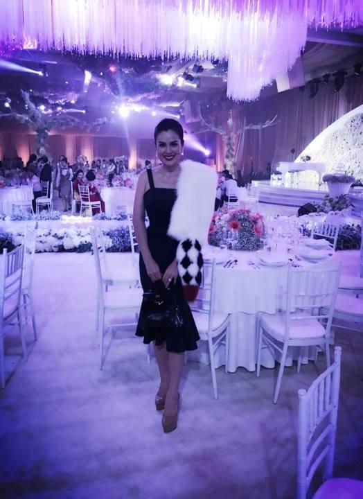Tiệc cưới lộng lẫy, xa hoa của Hoa hậu Thu Thảo và chồng đại gia - 5