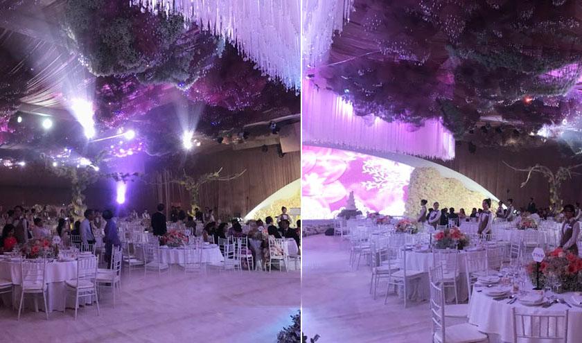 Tiệc cưới lộng lẫy, xa hoa của Hoa hậu Thu Thảo và chồng đại gia - 4