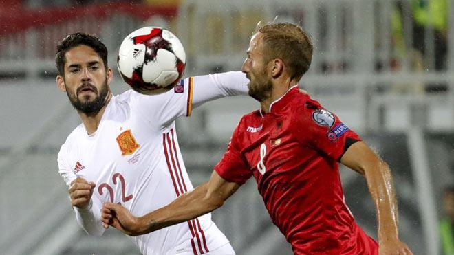 """Tây Ban Nha – Albania: Uy lực """"Bò tót"""", ma thuật Isco - 2"""