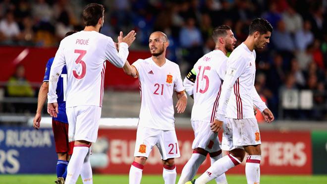 """Tây Ban Nha – Albania: Uy lực """"Bò tót"""", ma thuật Isco - 1"""