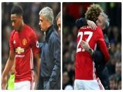 """Mourinho  """" yêu """"  Fellaini, Martial ở MU: Coi chừng chiều quá dễ sinh hư"""