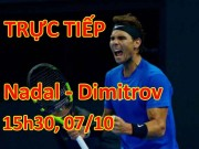 Chi tiết Nadal - Dimitrov: Sức ép dồn dập, thành quả xứng đáng (KT)
