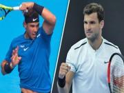 """Nadal - Dimitrov: Bùng cháy  & amp;  """" kết liễu """"  trong set 3 (Bán kết China Open)"""