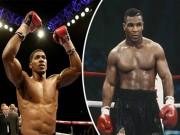 """""""Vua boxing"""" Joshua đòi vĩ đại như Mike Tyson: Vô địch nhưng không cắn tai"""
