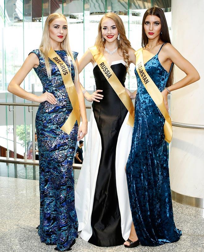 Bất ngờ trước nhan sắc như đàn ông của thí sinh Miss Grand International 2017 - 4
