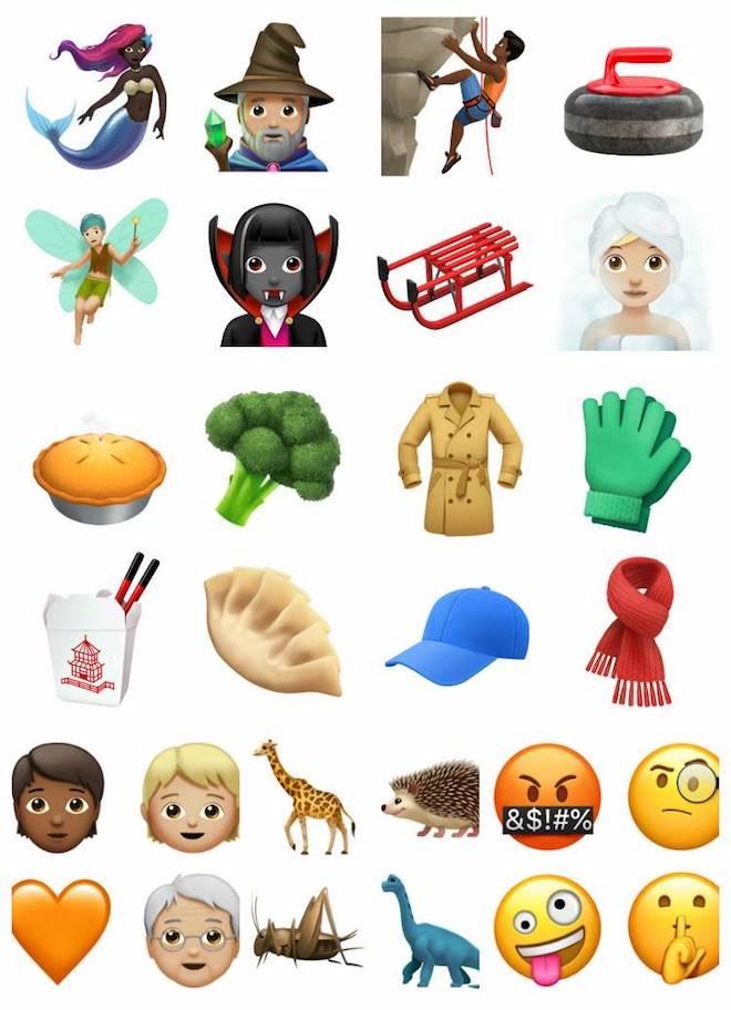 Apple tiết lộ hàng trăm emoji mới cho iOS 11.1 - 1