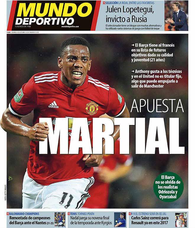 Arsenal gạ gẫm MU: Đổi Sanchez lấy Martial, triệu fan chia rẽ - 3