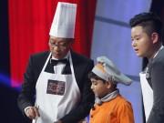 """MC Lại Văn Sâm  """" không giữ sĩ diện """"  vì món chè của đầu bếp nhí Ấn Độ"""