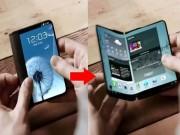 Dế sắp ra lò - Smartphone màn hình gập Galaxy X sắp ra mắt