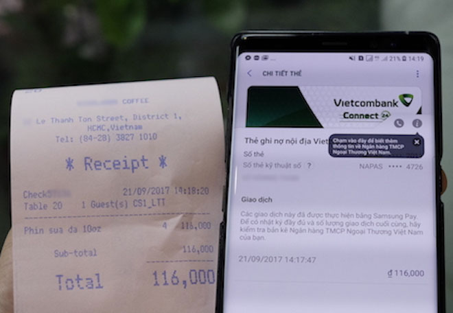 Hướng dẫn từng bước cài đặt và thanh toán bằng Samsung Pay - 11