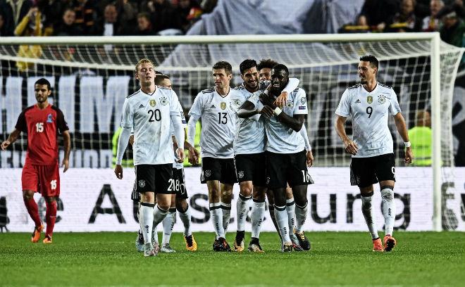 Đức - Azerbaijan: Đội hình B vẫn mạnh khủng khiếp - 1