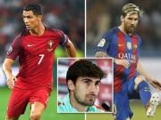 """"""" Gián điệp """"  Barca gặp Ronaldo, lộ chuyện cơ mật của Messi"""