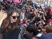 Ca nhạc - MTV - Hơn 100 vệ sĩ hộ tống T-ara tại Việt Nam để tránh fan cuồng