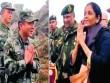 Bộ trưởng QP Ấn Độ thăm biên giới giáp TQ, gặp điều bất ngờ