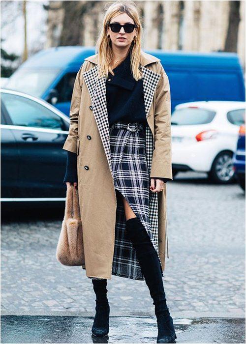 8 cách mặc chuẩn với chiếc váy yêu kiều nhất mùa thu - 3