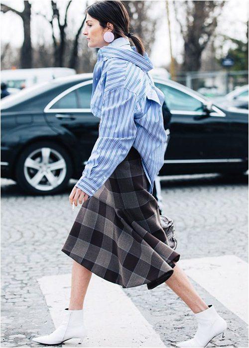 8 cách mặc chuẩn với chiếc váy yêu kiều nhất mùa thu - 6