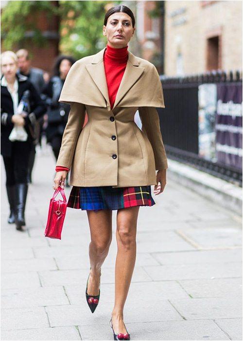 8 cách mặc chuẩn với chiếc váy yêu kiều nhất mùa thu - 8