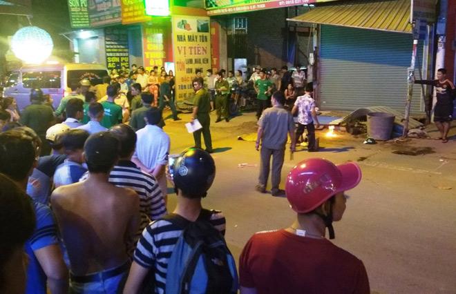 Tài xế Grabbike tử vong trên phố, người thân khóc gào trong ngây dại - 1