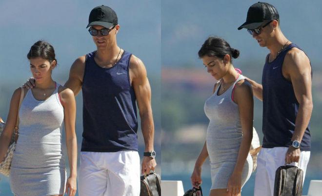 """Bạn gái Ronaldo: Sắp sinh """"công chúa"""" vẫn lo sống chung với mẹ chồng - 2"""