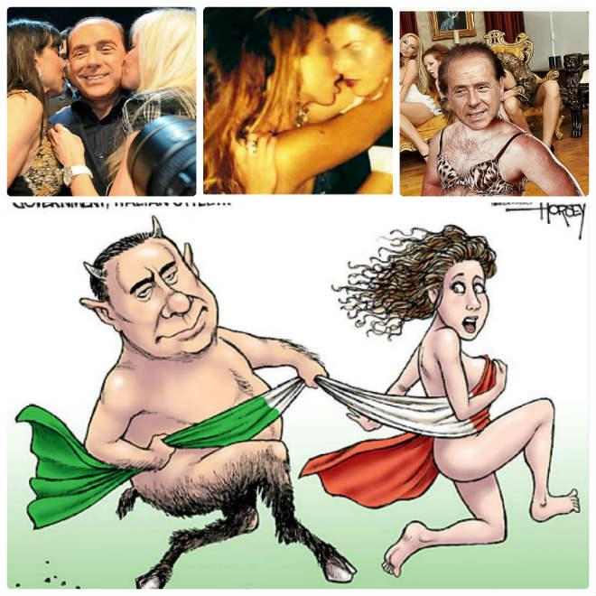 """Ông trùm & chân dài: Berlusconi, """"sát thủ tình trường"""" U70 vẫn mê gái chưa 18 (P3) - 2"""