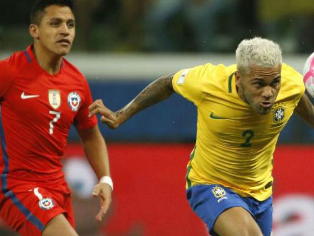 Video, kết quả bóng đá Brazil - Chile: Hiệp 2 bùng nổ, cái kết nghiệt ngã